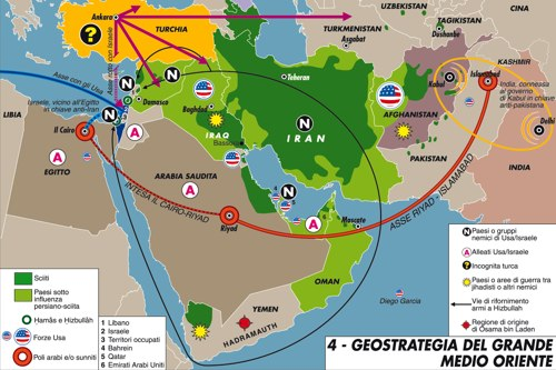 Cartina Europa E Medio Oriente.Una Civilta Ibrida Tra Europa E Mondo Arabo Limes