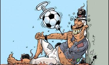 La rivoluzione d'Egitto è nel pallone