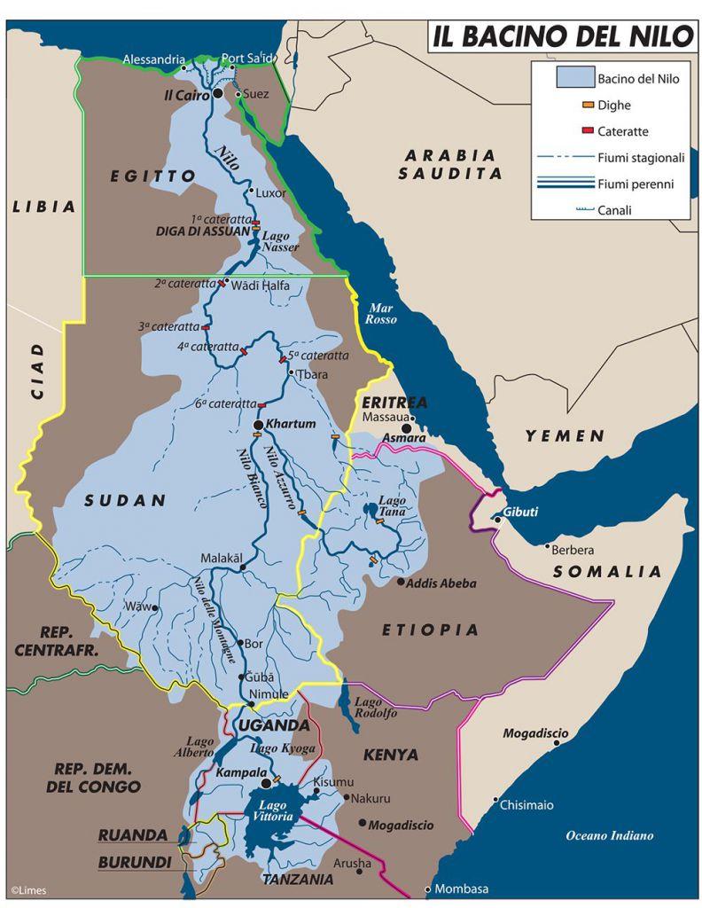 Cartina Africa Egitto.Grande Diga Egitto Sudan Etiopia Negoziati Limes
