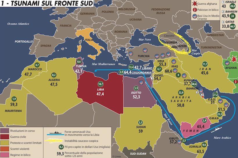 Carta di Laura Canali sulle primavere arabe del 2011