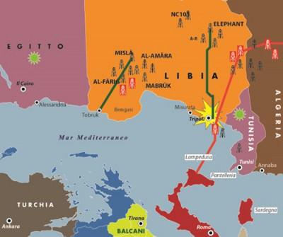 I rifornimenti energetici provenienti dalla sponda meridionale del Mediterraneo, in particolare dalla Libia, sono vitali per noi.