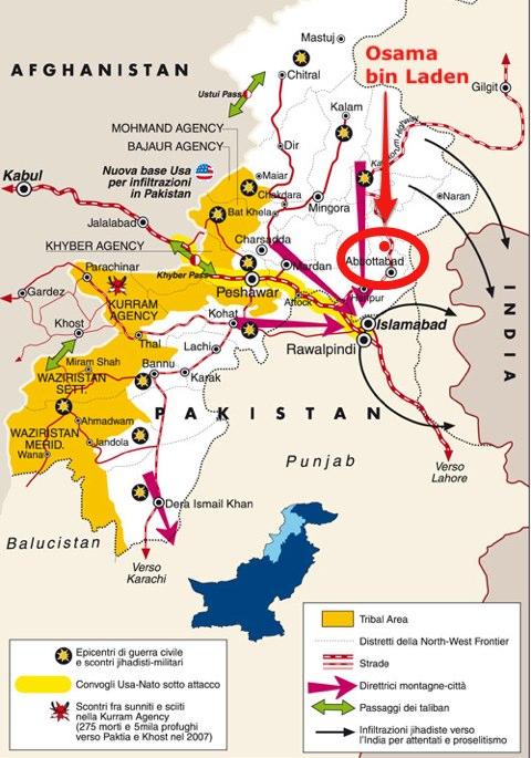 Le ambiguità del Pakistan nella morte di bin Laden