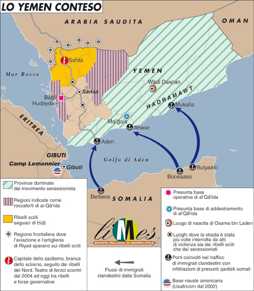 Yemen, anatomia del caos