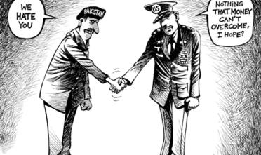 Vignetta: l'odio del Pakistan per gli Usa