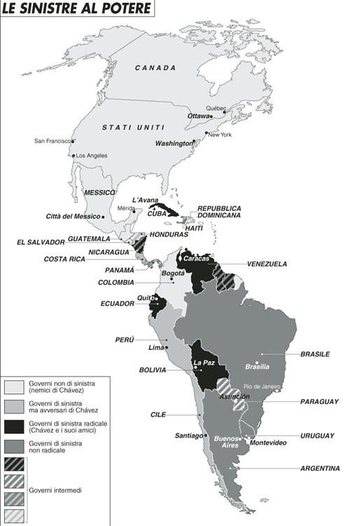 Tycoon sotto attacco anche in America Latina