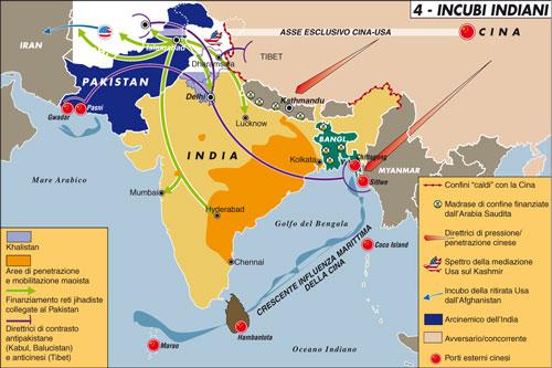 Cartina India Pakistan.La Tregua Tra India E Pakistan Sopravvive Agli Attentati Limes