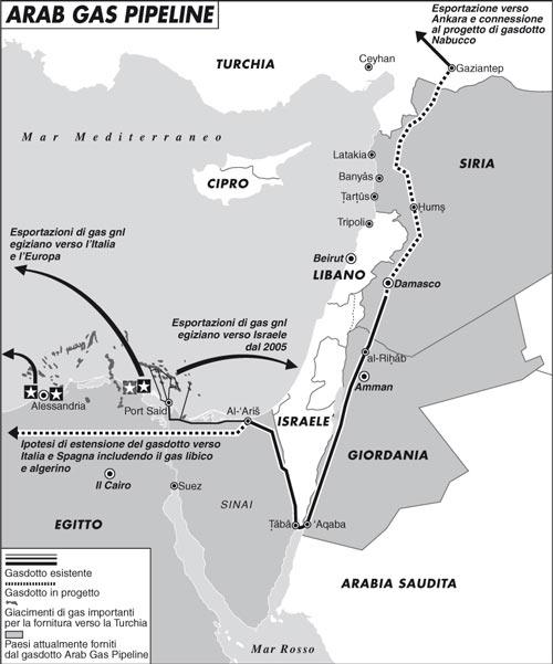 Nuovo attentato al gasdotto egiziano