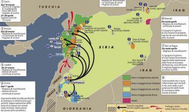Siria, insurrezione e controinsurrezione