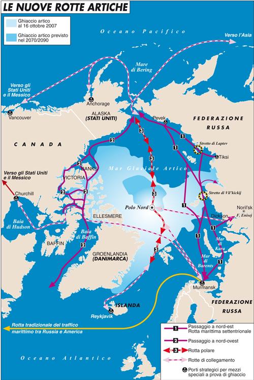 La Russia non molla la presa sull'Artico