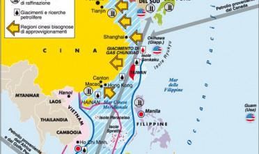 Il grande gioco del Mar Cinese