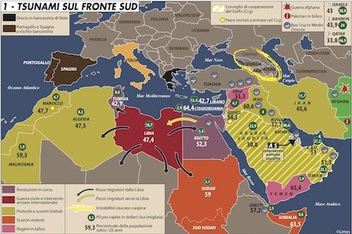 La ricetta contro la primavera araba: armi & tasse