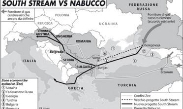 South stream vs Nabucco