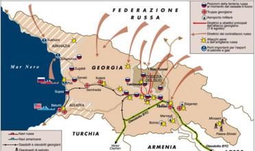 Nella guerra tra Russia e Georgia cambiano le armi
