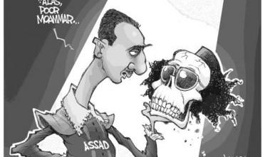 Assad: 'Ah, povero Muammar'