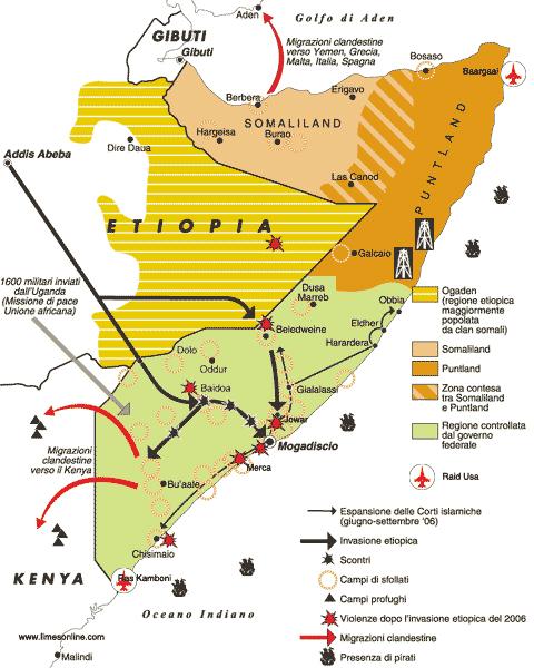 Perchè il Kenya interviene in Somalia