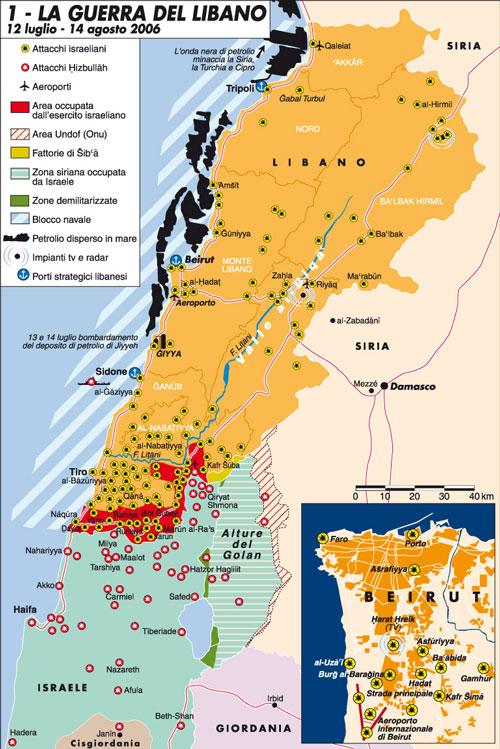 La Siria, Hezbollah e quei razzi d'avvertimento su Israele