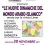 Padova: Le nuove dinamiche del mondo arabo-islamico