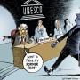 Vignetta: la Palestina ammessa all'Unesco