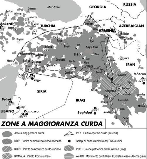 Tra Siria e Turchia torna lo spettro del Pkk