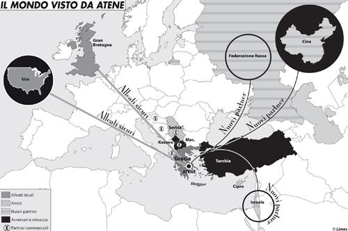 Il mondo visto da Atene