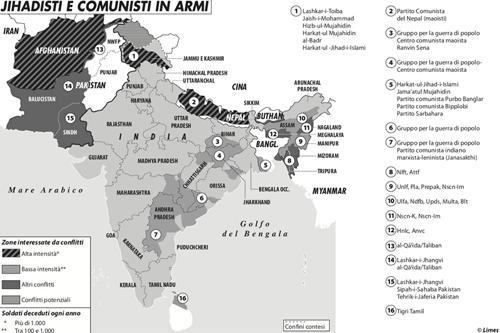 Jihadisti e comunisti in armi