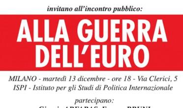Milano: Alla guerra dell'euro