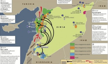 """""""Complotto esterno"""" o """"rivoluzione"""", i due linguaggi della Siria"""