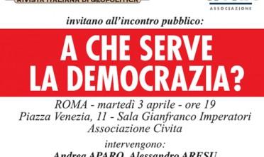 Roma: A che serve la democrazia?