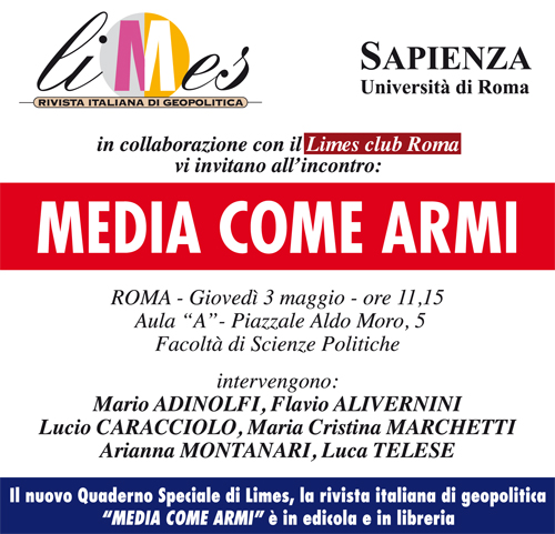Roma: Media come armi