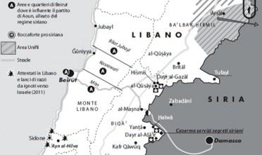 La guerra di Siria arriva in Libano
