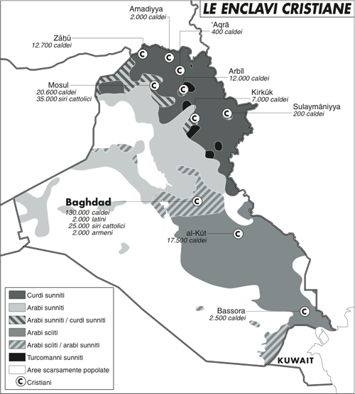 'Noi, cristiani in fuga nel Kurdistan iracheno'