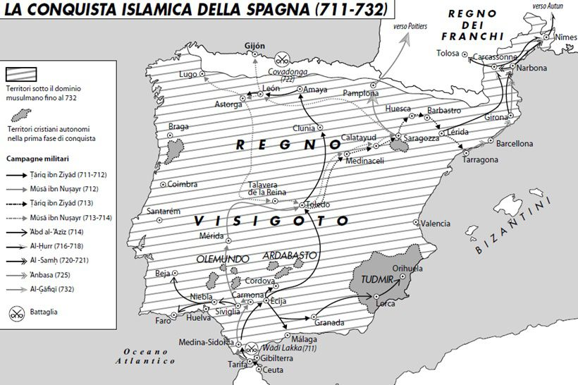 Cartina Spagna Romana.Il Califfato Di Spagna Limes