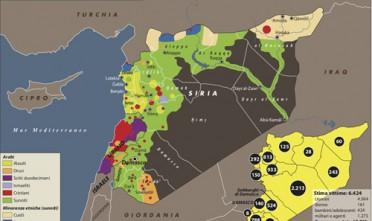Siria, dove è crollato e dove non è crollato il regime