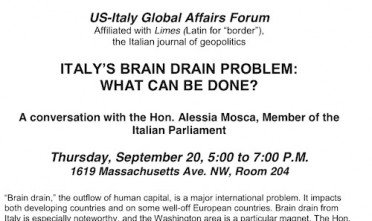 Italy's Brain Drain Problem: Limes a Washington