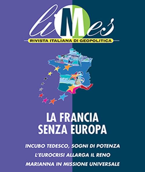 """Cover di Limes 3/12 """"La Francia senza Europa"""""""
