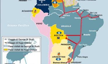 Gioie, dolori e cambiamenti dell'asse bolivariano