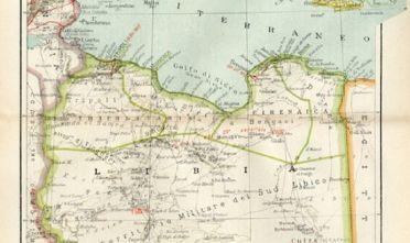 [Libia, da A. GHISLERI, Atlantino storico, 1938]