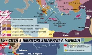L'avanzata turca in Europa fino al 1683