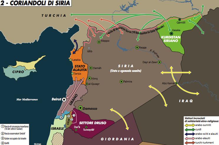 Il fattore Iraq nella guerra di Siria