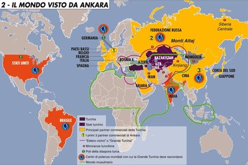 """La Turchia """"dialoga"""" con la Sco e guarda a Est"""
