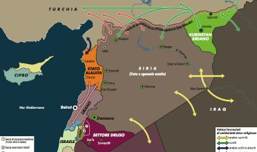 La guerra infinita di Siria in 5 punti