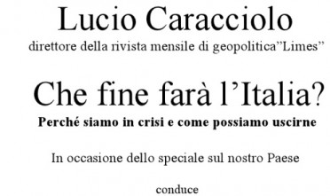 "Presentazione a Carpi di ""L'Italia di nessuno"""