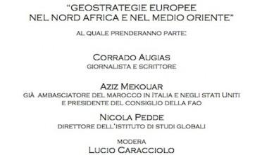 A Roma conferenza su Nord Africa e Medio Oriente