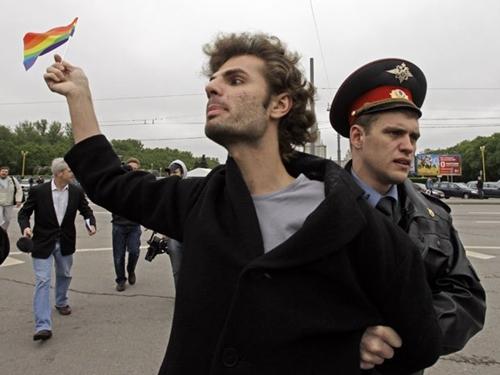 La Russia non è un paese per gay