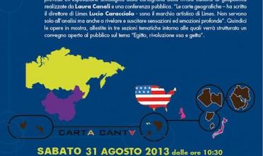 Carta Canta: a Caprarola mostra e conferenza di Limes