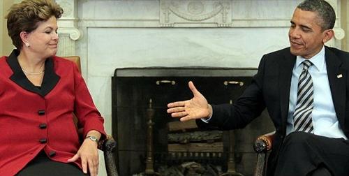 Dilma, Obama e i simboli di una visita rinviata