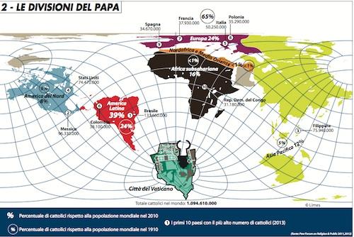 Nel solco di Roncalli e Wojtyla: l'appello di papa Francesco sulla Siria