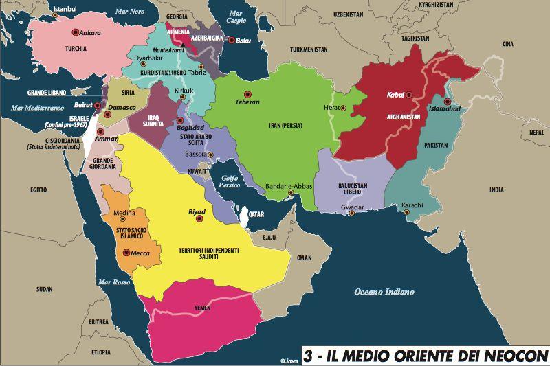 medio oriente neocon