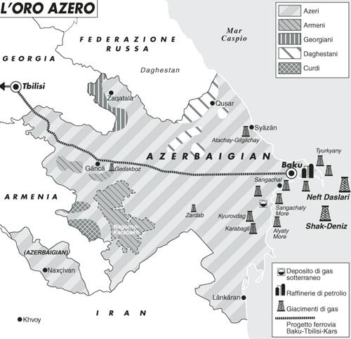 Per l'Occidente in Azerbaigian l'energia conta più della democrazia