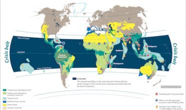 In mostra a Washington le carte di Laura Canali sui cambiamenti climatici